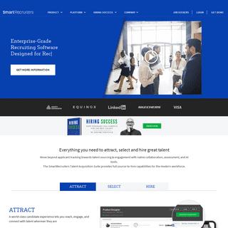 SmartRecruiters - Recruiting Software & Talent Acquisition Suite