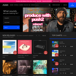 ADSR Sample Packs & Loops, Synth Presets, Plug-ins & Video Courses for Electronic Music Producers - ADSR