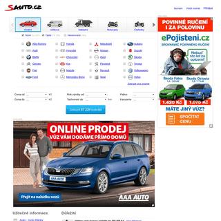 Sauto.cz - prodej aut, inzerce automobilů