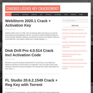 Cracked License Key CrackedRoot