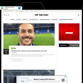 ArchiveBay.com - offthepost.info - Latest Football News, Views, Transfer Rumour & Humour - Off The Post