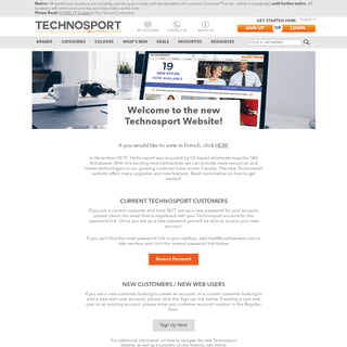 Welcome Technosport - S&S Activewear