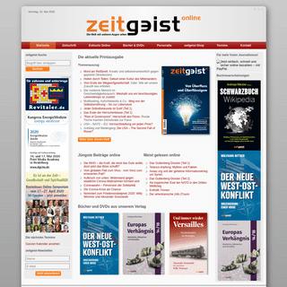 Startseite - Verlag zeitgeist Print & Online