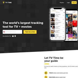 TV Time - Your TV shows calendar (TVShow Time)