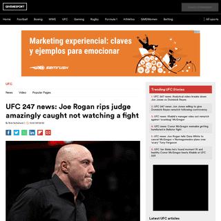 ArchiveBay.com - www.givemesport.com/1545304-ufc-247-news-joe-rogan-rips-judge-amazingly-caught-not-watching-a-fight - UFC 247 news- Joe Rogan rips judge amazingly caught not watching a fight - GiveMeSport