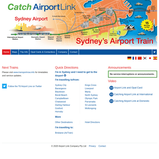 Sydney's Airport Train - Airport Link