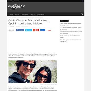 Cristina Tomasini fidanzata Francesco Oppini, il sorriso dopo il dolore