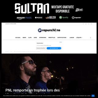 PNL remporte un trophée lors des Victoires de la musique !