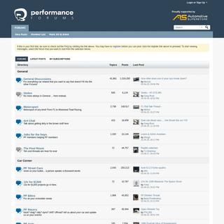 ArchiveBay.com - performanceforums.com - Home - PerformanceForums