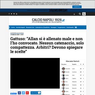 DIRETTA - Gattuso in conferenza per presentare Cagliari-Napoli