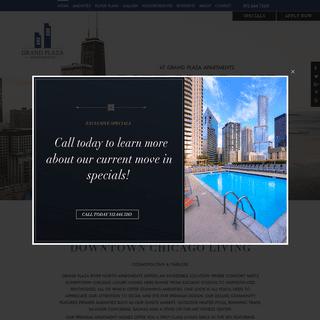 Chicago River North Apartments - Grand Plaza Apartments