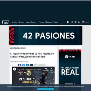 ArchiveBay.com - www.goal.com/es-co/noticias/el-resumen-del-levante-vs-real-madrid-de-la-liga-video-goles/8yve001bm2xa1jko74imqae6h - El resumen del Levante vs Real Madrid, de La Liga- vídeo, goles y estadísticas - Goal.com