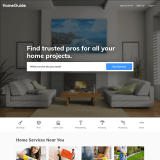 HomeGuide - Find Trusted Painters, Plumbers, Maids and more!