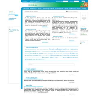 www.chemie-abc.de - Startseite