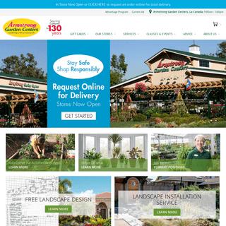 Landscape Design & Installation - Garden Supplies - Gift Cards - Armstrong Garden Centers