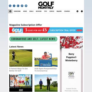Golf Monthly - Golf Instruction, Tour News, Gear & Equipment Reviews