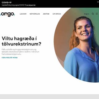 A complete backup of origo.is