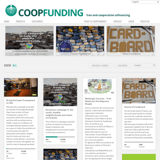 CoopFunding - free and cooperative cofinancing