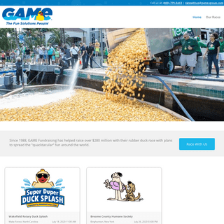 Great American Merchandise & Events, The Fun Solutions People- Game Fund Raising