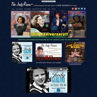 The Judy Room - Celebrating the life and career of Judy Garland