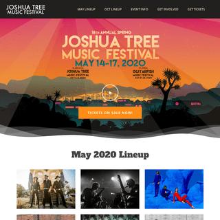 Spring Festival • Joshua Tree Music Festival