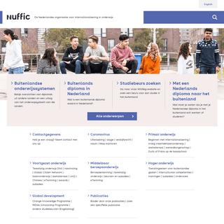 ArchiveBay.com - epnuffic.nl - Nuffic homepage - NL - Nuffic