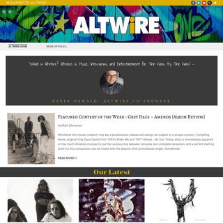 ArchiveBay.com - altwire.net - Altwire Home - AltWire