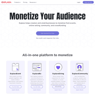 Sell Event Tickets, Memberships, Digital Products And Raise Funds - Explara