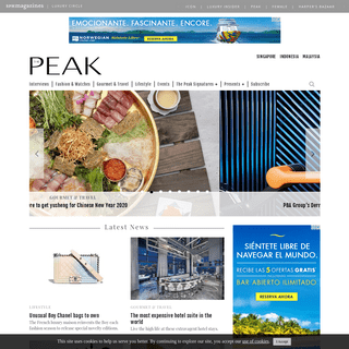 The Peak Singapore - The Finer Things In Life