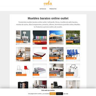 🥇 Muebles BARATOS Online Outlet - 1000 MUEBLES en Oferta!