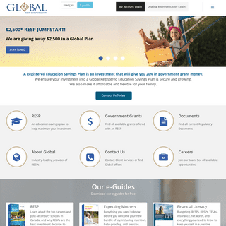 Registered Education Savings Plan Richmond Hill, Canada - Global RESP Corporation