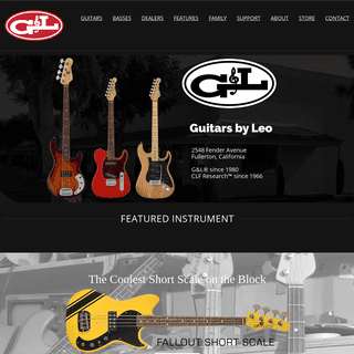 G&L Musical Instruments - Made in Fullerton Since 1980