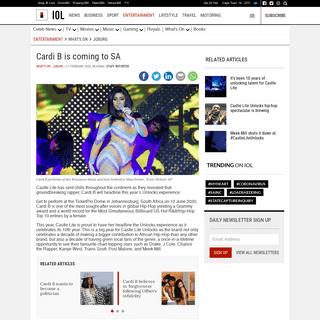 ArchiveBay.com - www.iol.co.za/entertainment/whats-on/joburg/cardi-b-is-coming-to-sa-43124898 - Cardi B is coming to SA - IOL Entertainment
