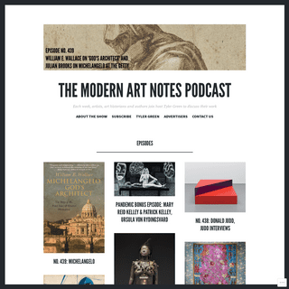 ArchiveBay.com - manpodcast.com - The Modern Art Notes Podcast – Each week, artists, art historians and authors join host Tyler Green to discuss their work