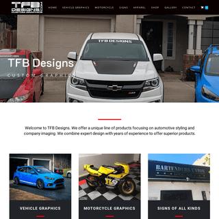 Home - TFB Designs