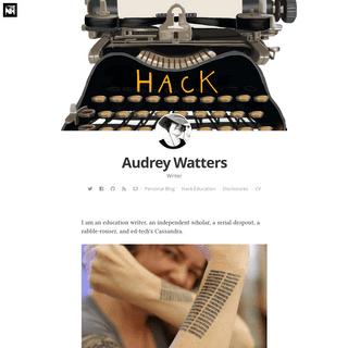 Audrey Watters
