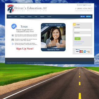 Driver's Education 101 - Parent Taught Driver's Ed (CP-114)
