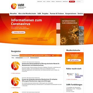 Verband deutscher Musikschulen e.V.
