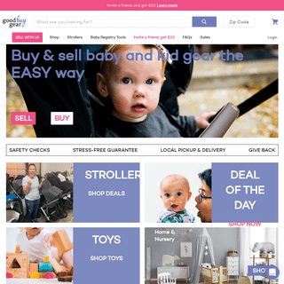 Good Buy Gear - A managed marketplace for secondhand baby & kid gear