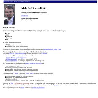 Mehrdad Reshadi