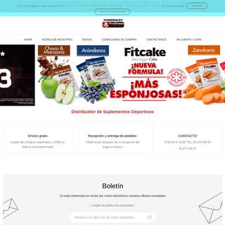 Distribuidor de Suplementos Deportivos - Mayorista de suplementos deportivos en España - Profitnesscentury Distribuidor