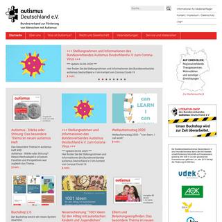 Bundesverband Autismus Deutschland e.V.- Startseite