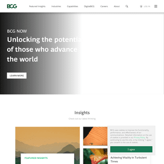 Boston Consulting Group (BCG) - Global Management Consulting Firm