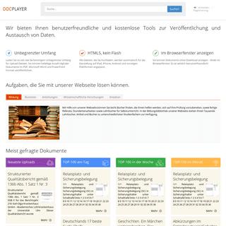 Wir bieten Ihnen benutzerfreundliche und kostenlose Tools zur Veröffentlichung und Austausch von Daten.