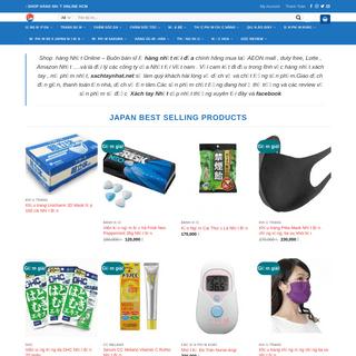 Xachtaynhat.net - Hàng Nhật - Mỹ phẩm - Hàng Xách Tay Nhật