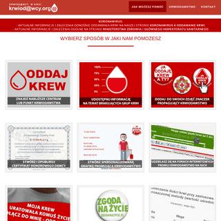 Oddając krew ratujesz życie