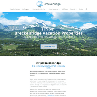 Vacation Rental Property Management Solutions - Breckenridge Vacation Properties