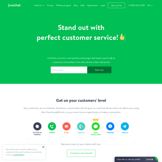 Live Chat Software for Websites - JivoChat
