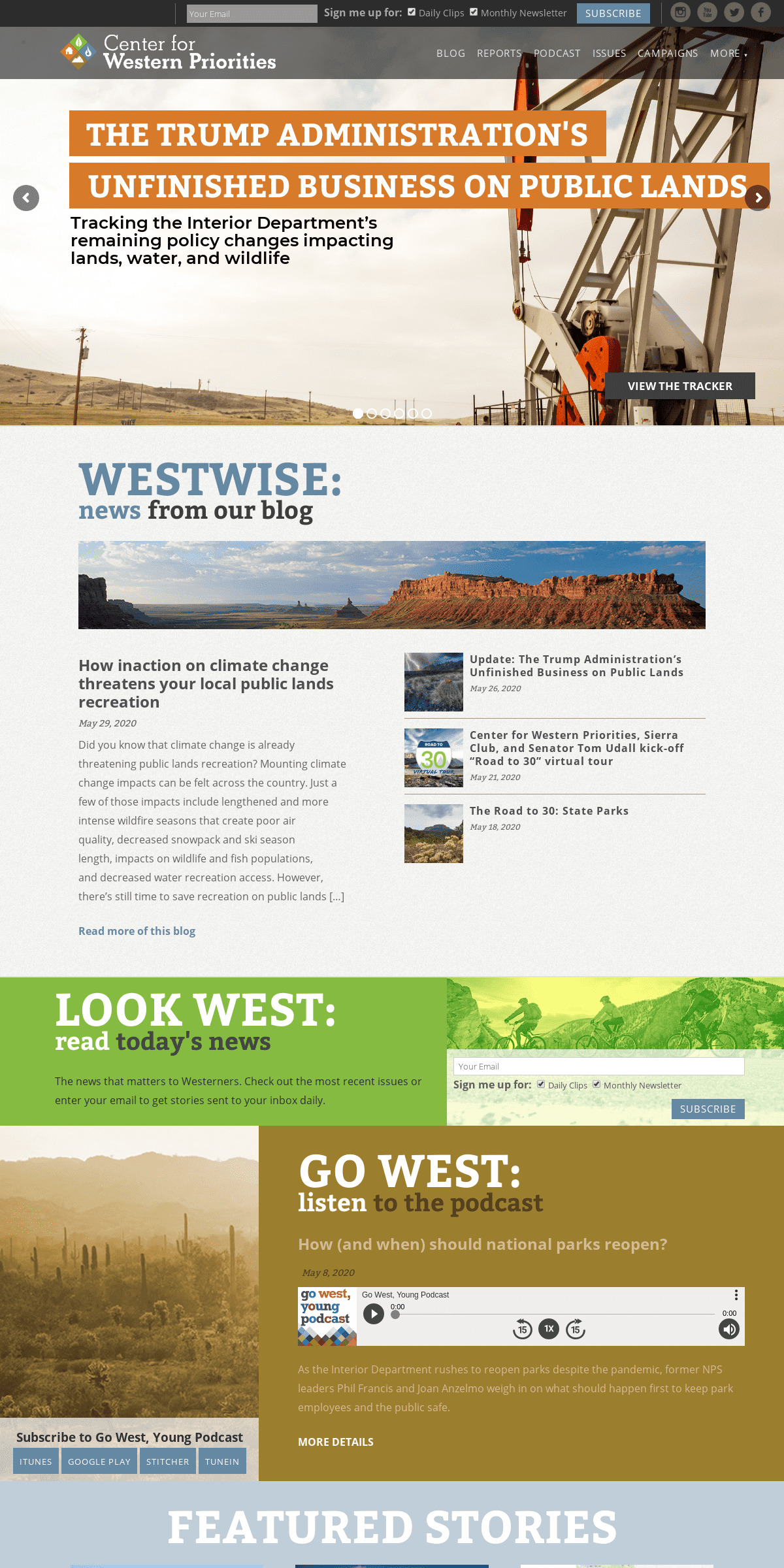 Center for Western Priorities – Center for Western Priorities