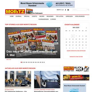 moritz.de -- Veranstaltungen Heilbronn & Veranstaltungen Stuttgart! - MORITZ Stadtmagazin –- Veranstaltungen, Konzerte, Partys